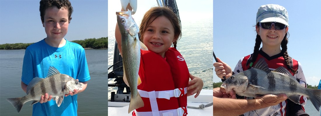 All fishing charters are family friendly
